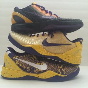 Nike Kobe Bryant Worn PE Sample Collection Size 14 3 pairs - DOPEFOOT  - 1