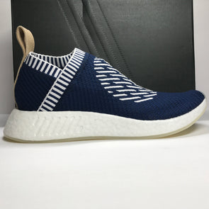 DS Adidas NMD CS2 PK Navy City Sock Ronin Stripes Size 12