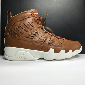 DS Nike Air Jordan 9 IX Pinnacle Baseball Glove Brown Size 10