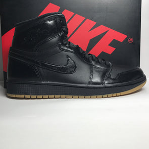 DS Nike Air Jordan 1 I Retro High Black Gum Size 8.5/Size 13