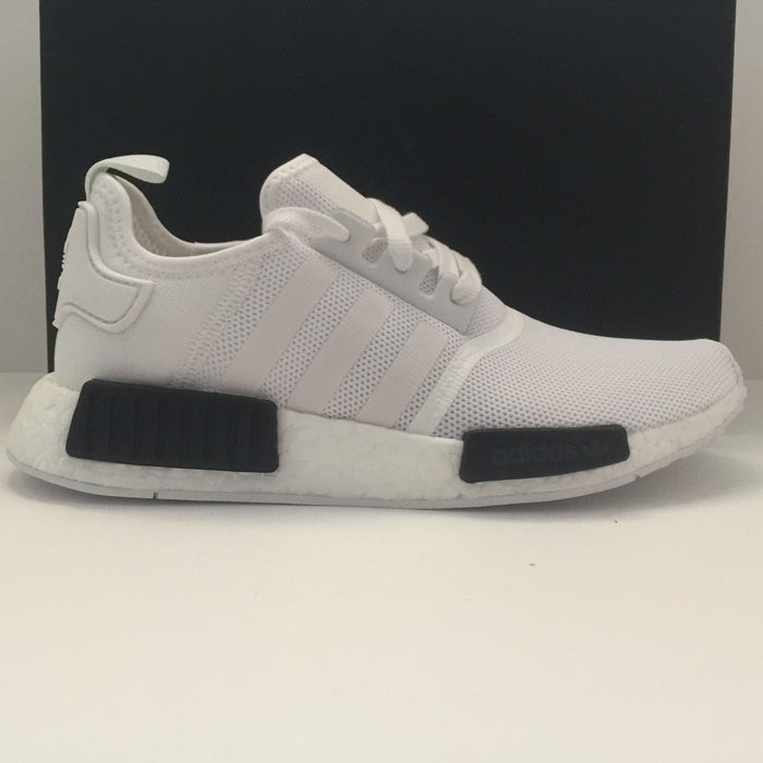 DS Adidas NMD Runner Black/White size 12 - DOPEFOOT  - 1