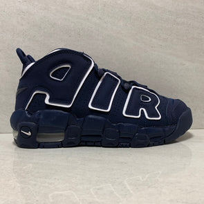 NIKE AIR MORE UPTEMPO GS SIZE 5.5Y OBSIDIAN 415082-401