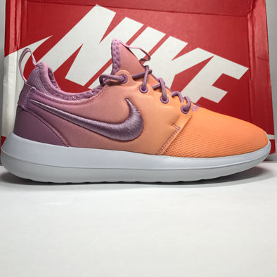 DS Women's Nike Roshe Two BR Orchid Sunset Glow Size 7/Size 8