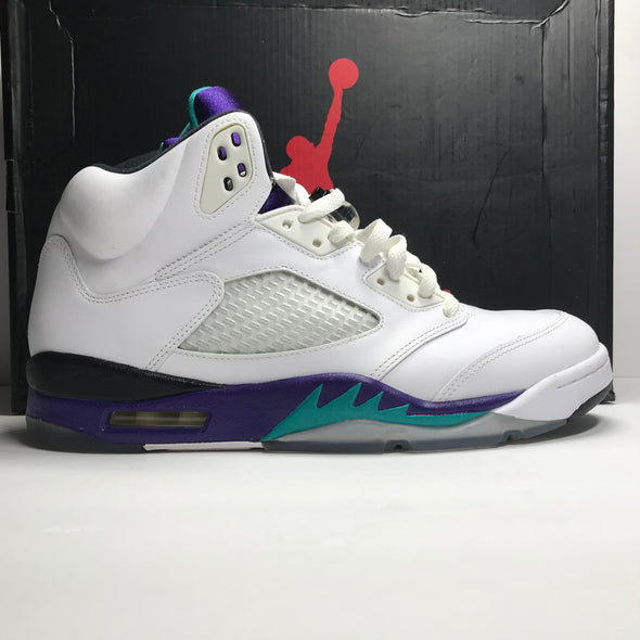 Nike Air Jordan 5 V Retro White Grape Size 10.5