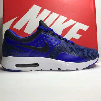 DS Nike Air Max Zero Essential Royal Blue Size 9.5/Size 10
