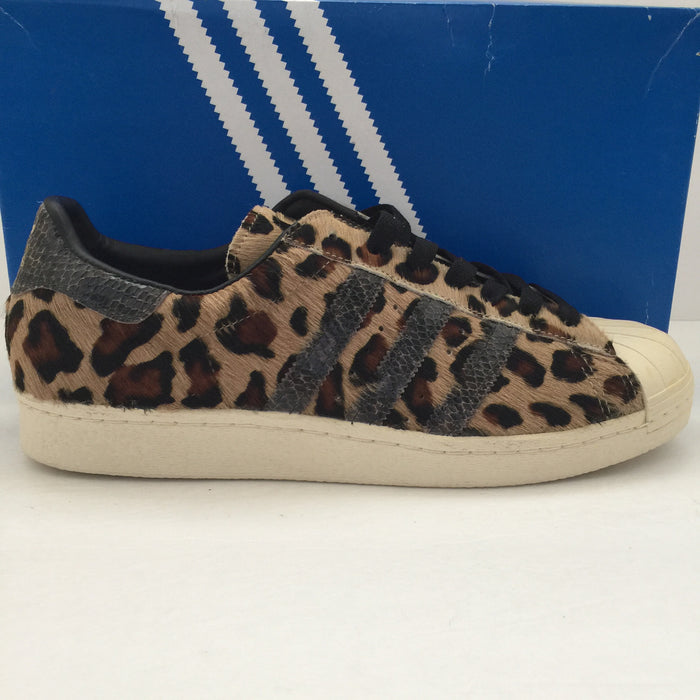 DS Adidas Superstar SS 80's Kine Leopard Snakeskin Size 10.5 - DOPEFOOT  - 1