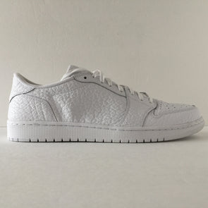 Nike Air Jordan 1 I Retro Low Swooshless White Size 14 - DOPEFOOT  - 1