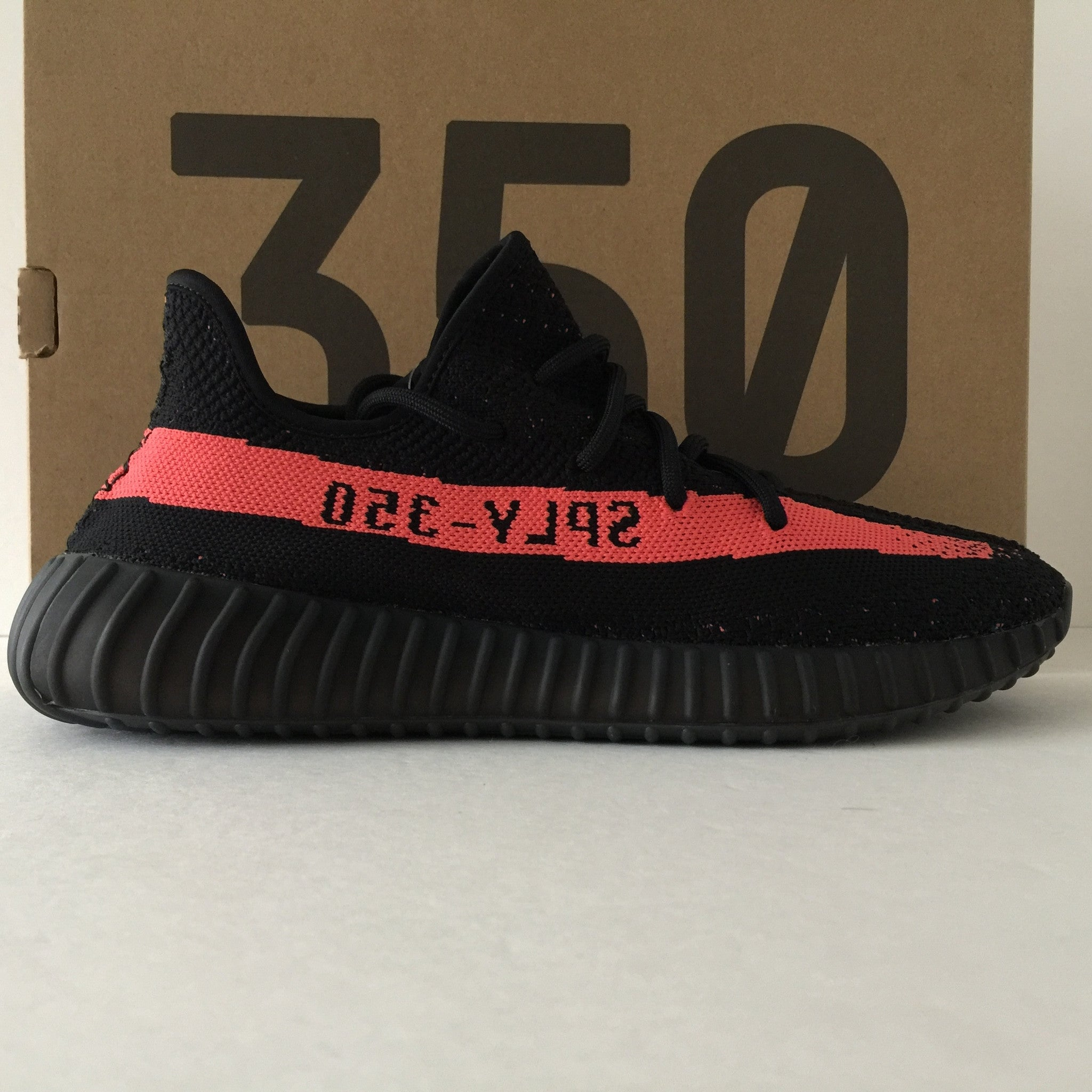 DS Adidas Yeezy Boost 350 V2 Solar Red