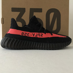 DS Adidas Yeezy Boost 350 V2 Solar Red Size 9.5 - DOPEFOOT  - 1