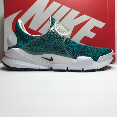 DS Nike Sock Dart QS Safari Pack Turbo Green Size 8