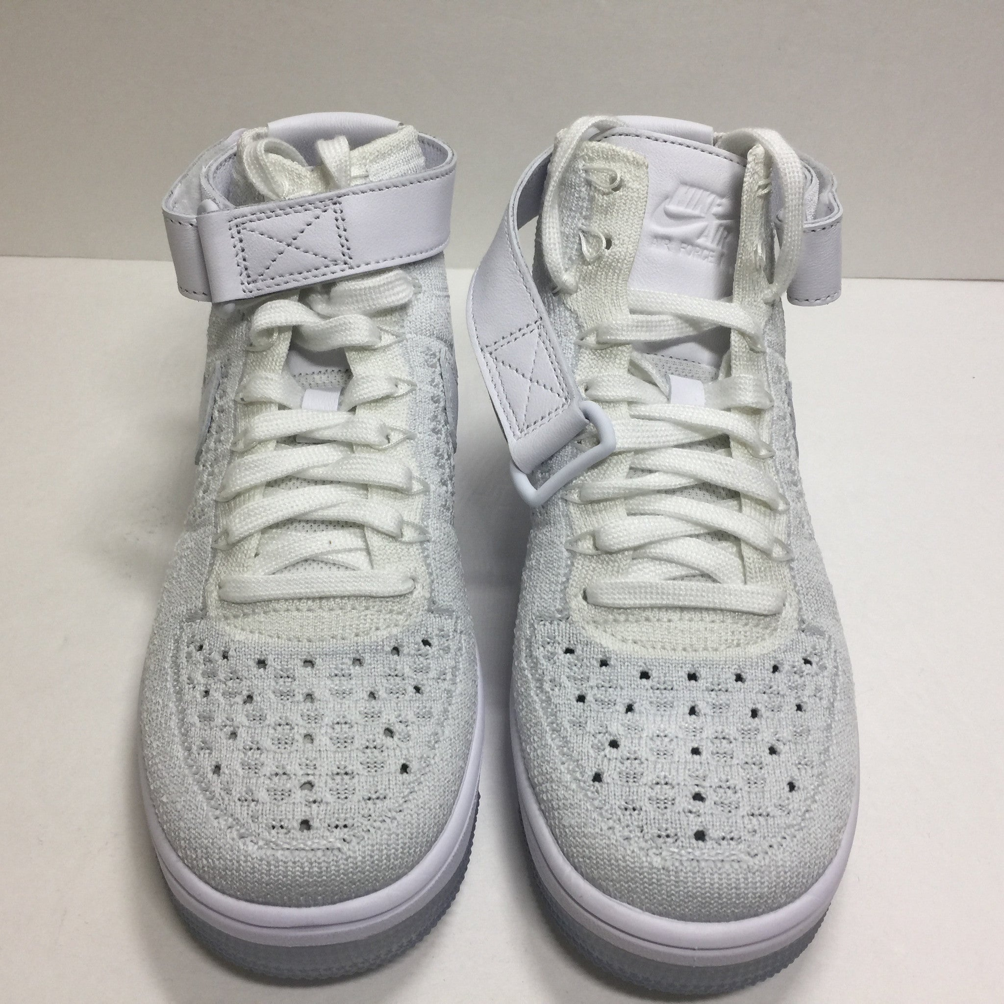 DS W Nike Air Force 1 Flyknit High White Size 6/6.5/Size 7.5 - DOPEFOOT  - 5