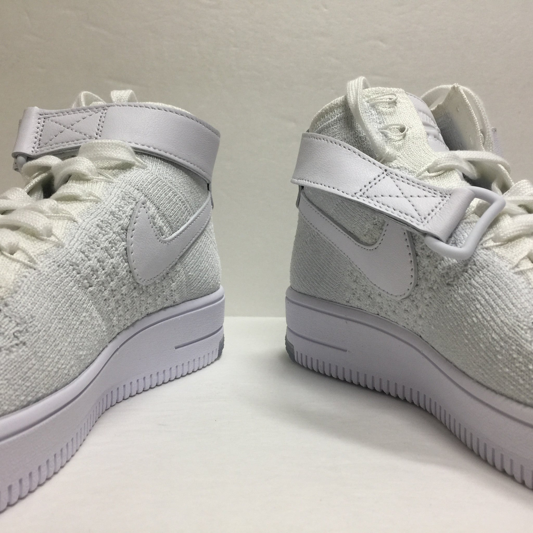 DS W Nike Air Force 1 Flyknit High White Size 6/6.5/Size 7.5 - DOPEFOOT  - 6