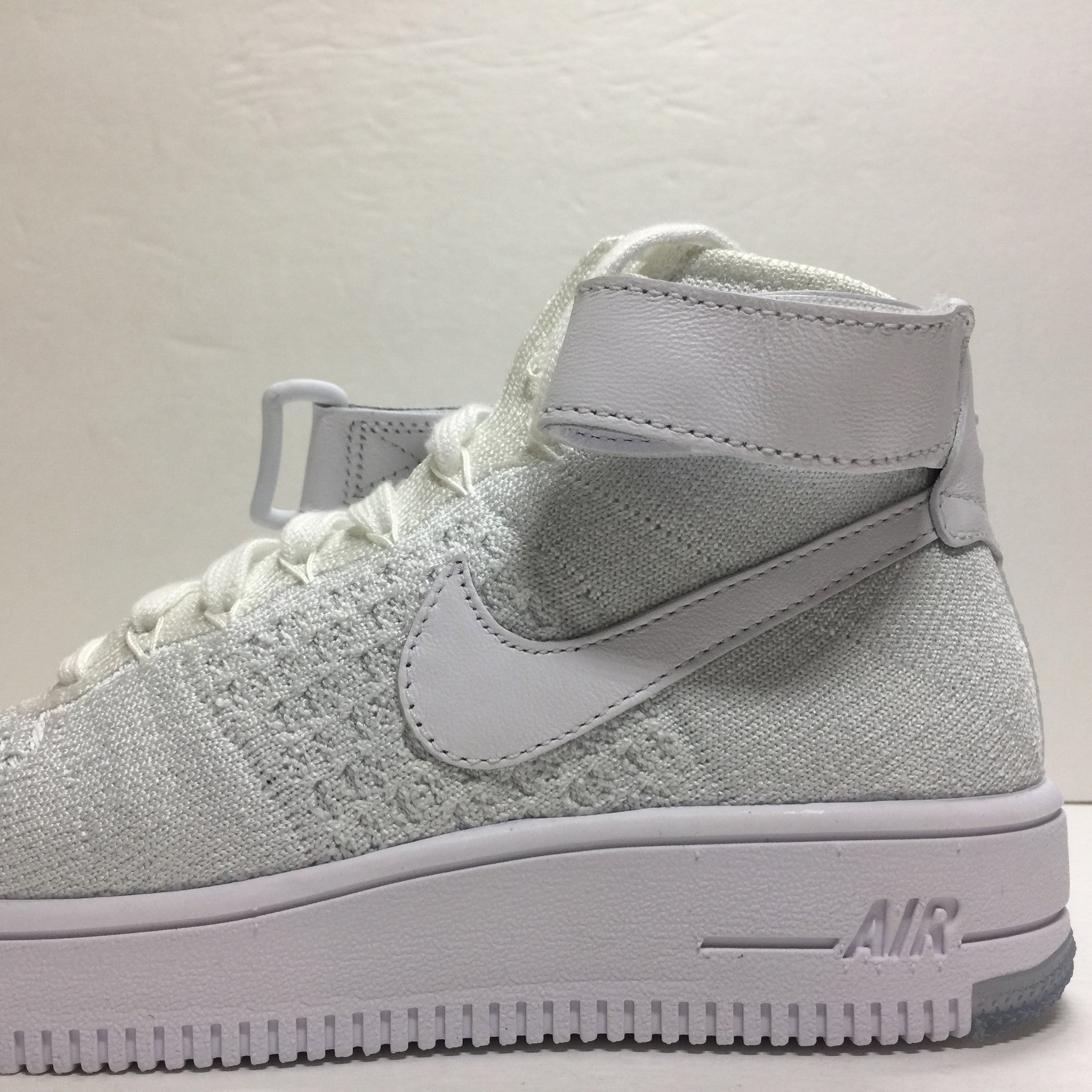 DS W Nike Air Force 1 Flyknit High White Size 6/6.5/Size 7.5 - DOPEFOOT  - 7