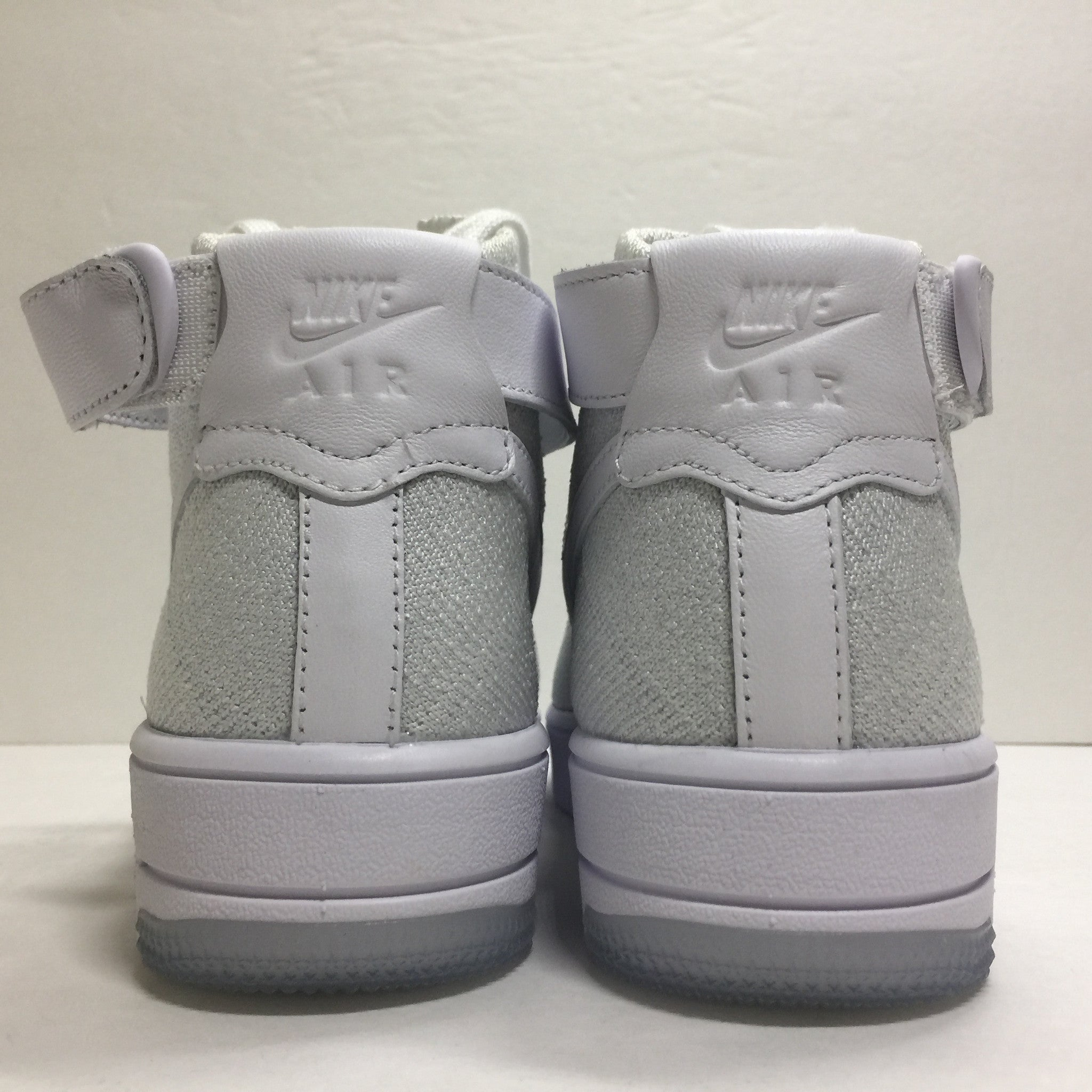 DS W Nike Air Force 1 Flyknit High White Size 6/6.5/Size 7.5 - DOPEFOOT  - 8