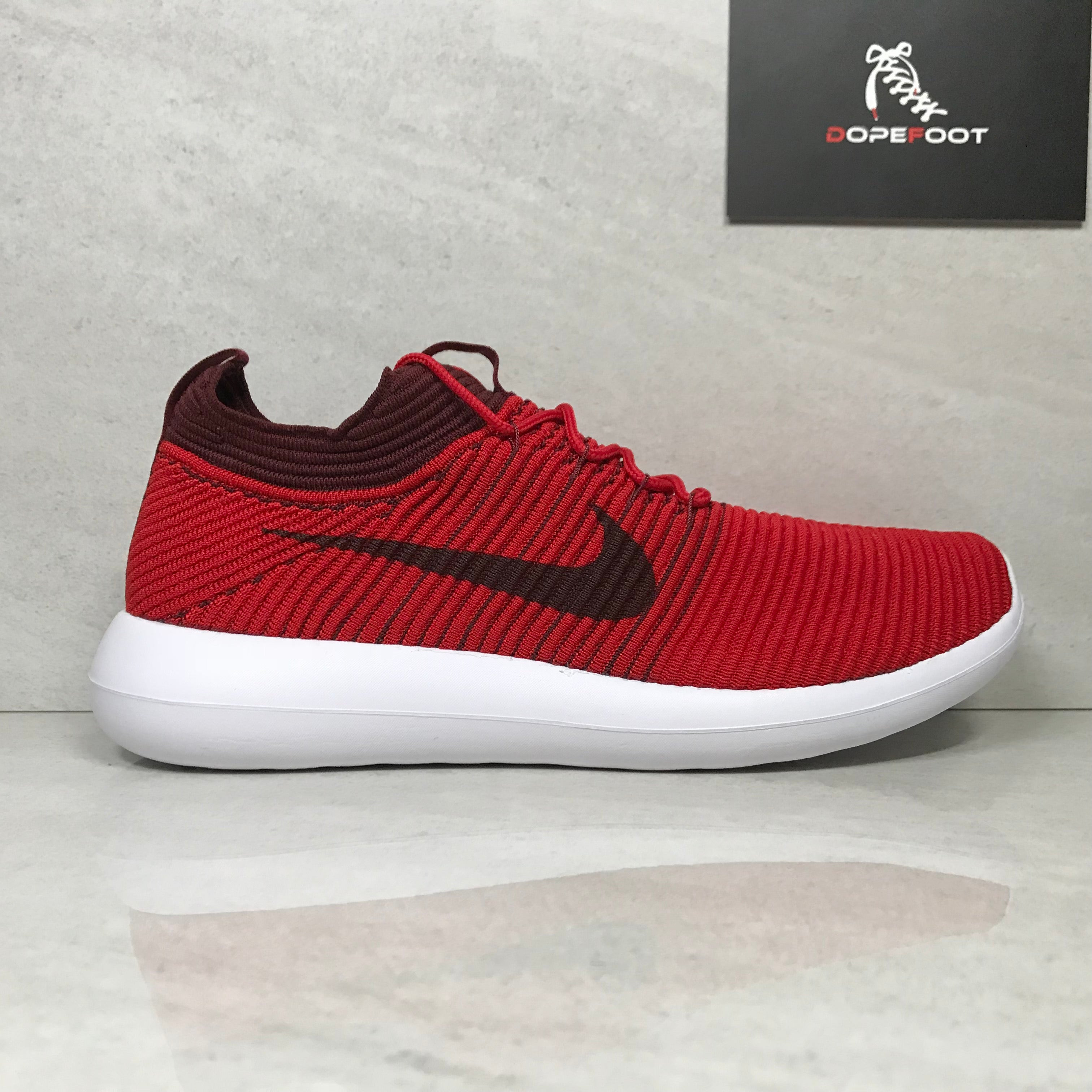 reputable site e1a52 f4fe7 DS Nike Roshe Flyknit v2 Red Size 9.5/Size 10/Size 11/Size 12 -