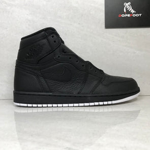 DS Air Jordan 1 I High OG Black/White Perforated Size 7/Size 9/9.5/Size 10/10.5/Size 11/Size 16