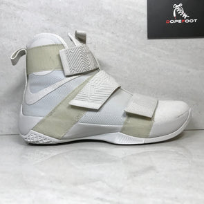 DS Nike Lebron Soldier 10 X SFG LUX 911306 001 Light Bone Size 9/Size 10
