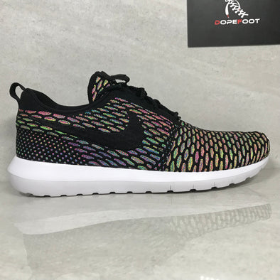 DS Nike Roshe NM Flyknit Multicolor Size 9.5/Size 10.5