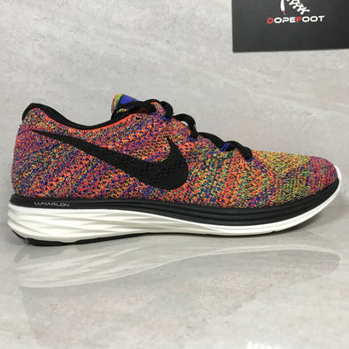 DS Nike Flyknit Lunar3 Multicolor Size 10/Size 11