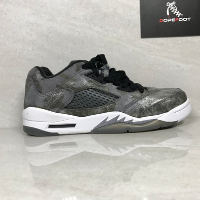 DS Air Jordan 5 V Retro Prem Low GG All Star Cool Grey Size 8Y