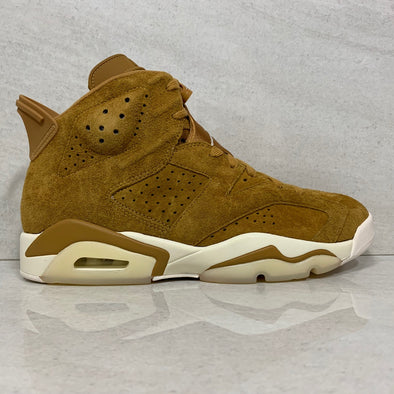 Air Jordan 6 VI Retro Golden Harvest / Wheat - 384664 705 - Men's Size 9.5/Size 10