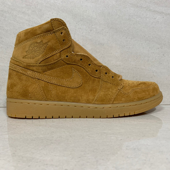 Nike Air Jordan 1 I High Wheat 555088-710 Men's Size 9.5/Size 10.5/Size 11