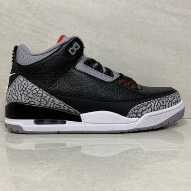 Nike Air Jordan 3 OG Retro Black Cement 2018 - 854262 001 - Size 10/10.5