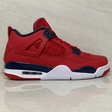 Air Jordan 4 Retro SE Fiba Gym Red/Obsidian-White CI1184-617 - Men's Size 10.5