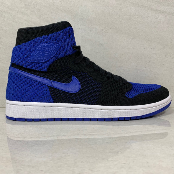 Air Jordan 1 I Retro Hi Royal Flyknit - 919704 006  - Men's Size 10.5/Size 11