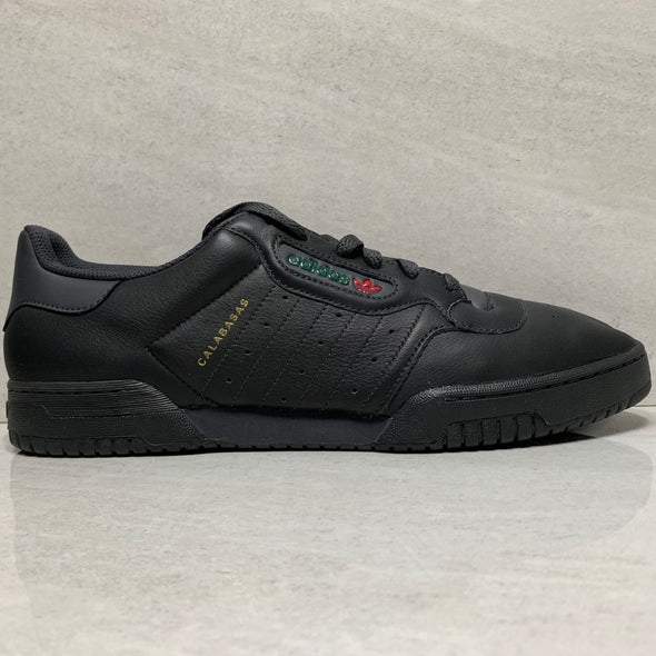 adidas Yeezy Powerphase Black Leather - CG6420 - Men's Size 13