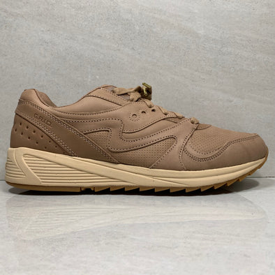Saucony Grid 8000 Veg Tan Leather - S70313-1 - Men's Size 8/Size 13