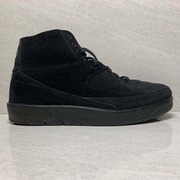 Air Jordan 2 Decon Black Suede - 897521 010 - Size 8/Size 8.5/Size 10.5