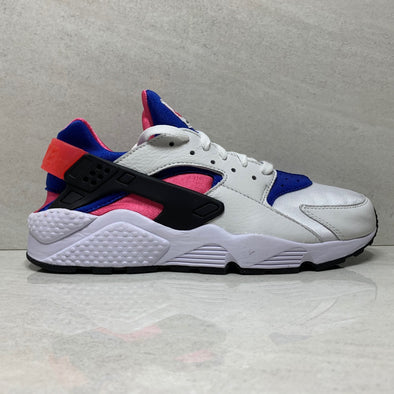 Nike Air Huarache Run 91 QS - AH8049 100 - Men's Size 9.5 White/Game Royal/Black