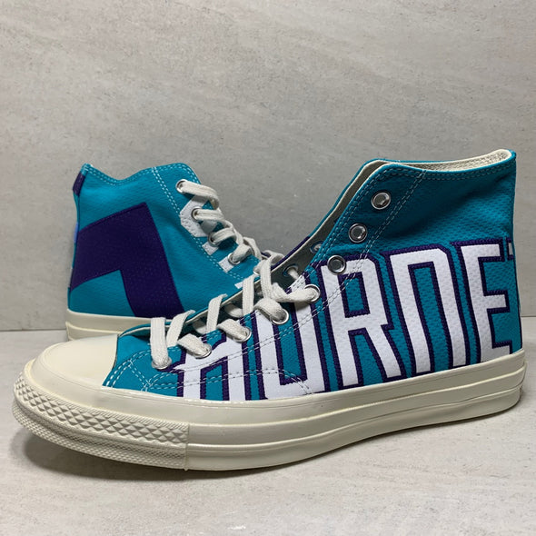 Converse Chuck Taylor All-Star 70s Hi Gameday Charlotte Hornets #74/250 - 159398C - Men's Size 9/Size 10