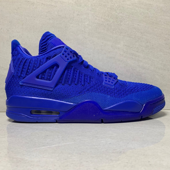 Jordan 4 Retro Flyknit Royal Blue - AQ3559-400 - Men's Size 8.5/Size 9.5/Size 10.5