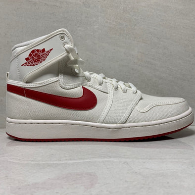 Nike Air Jordan 1 I Retro High AJ1 KO Sail - 638471 102 - Men's Size 10.5 Red