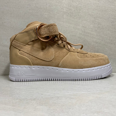 NIKE AIR FORCE 1 MID V CRUZ CMFT VACHETTA TAN - AO9298-200 - Men's Size 7.5