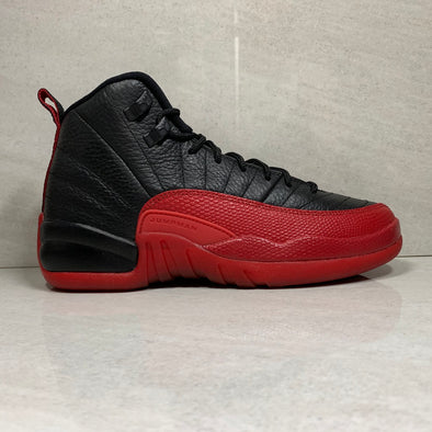 Jordan 12 XII Retro BG Flu Game - 153265 002 - Youth Size 5Y