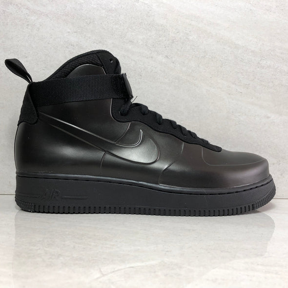 Nike Air Force 1 Foamposite Cup ah6771-001 Men's Size 10 Black