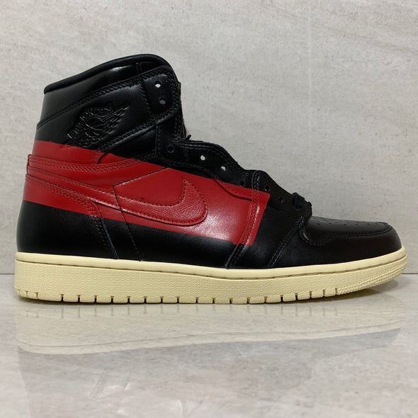 Nike Air Jordan 1 I High OG Defiant Couture Size 10.5/Size 11 Black/Gym RED [BQ6682-006]
