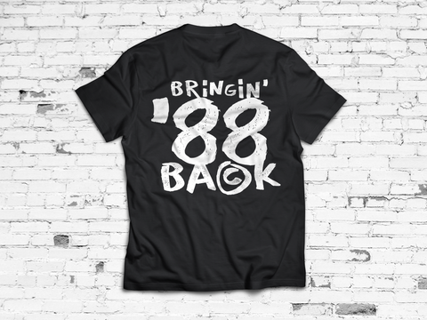 Bring 88 Back Tee | snkrbox by Jason Burke
