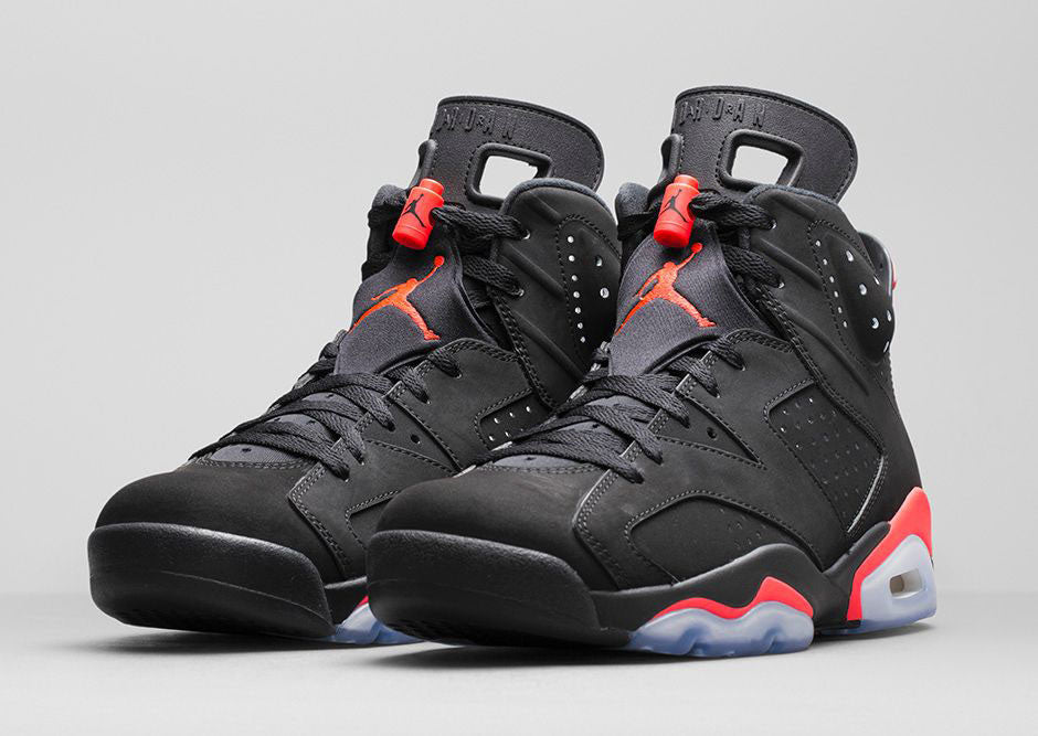 "Air Jordan VI ""Infrared"" Black -  Circa 2014"