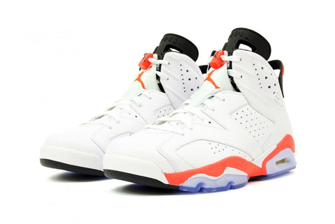 "Air Jordan VI ""Infrared"" White -  Circa 2014"
