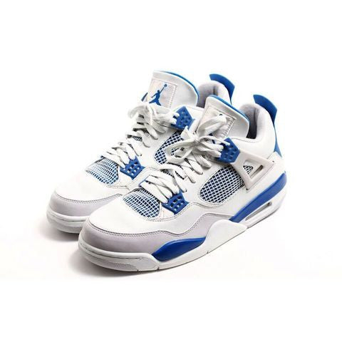 "Air Jordan IV Retro ""Military Blue"" -  Circa 2006"