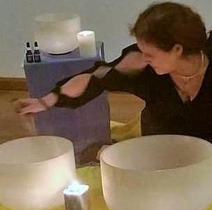 Crystal Bowl Meditation Classes- Class Card
