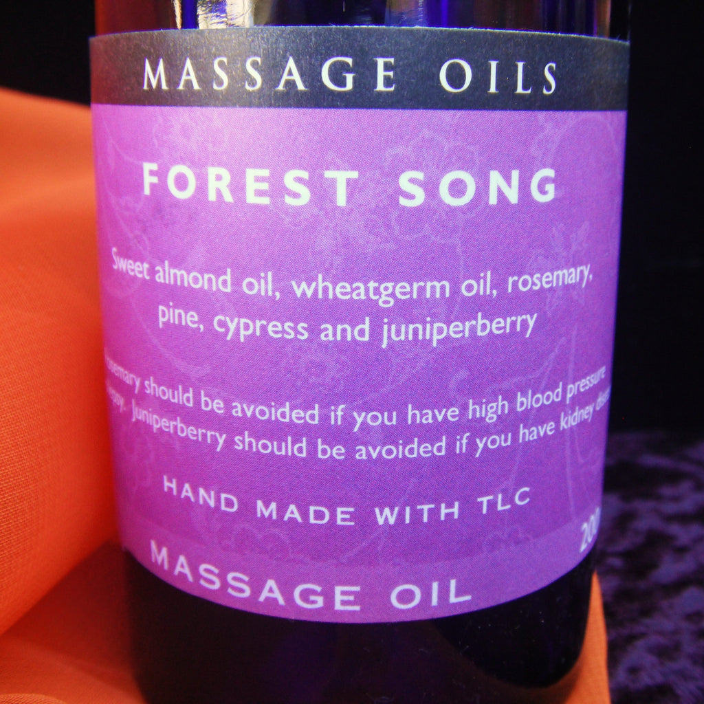 Forest Song Massage Oil