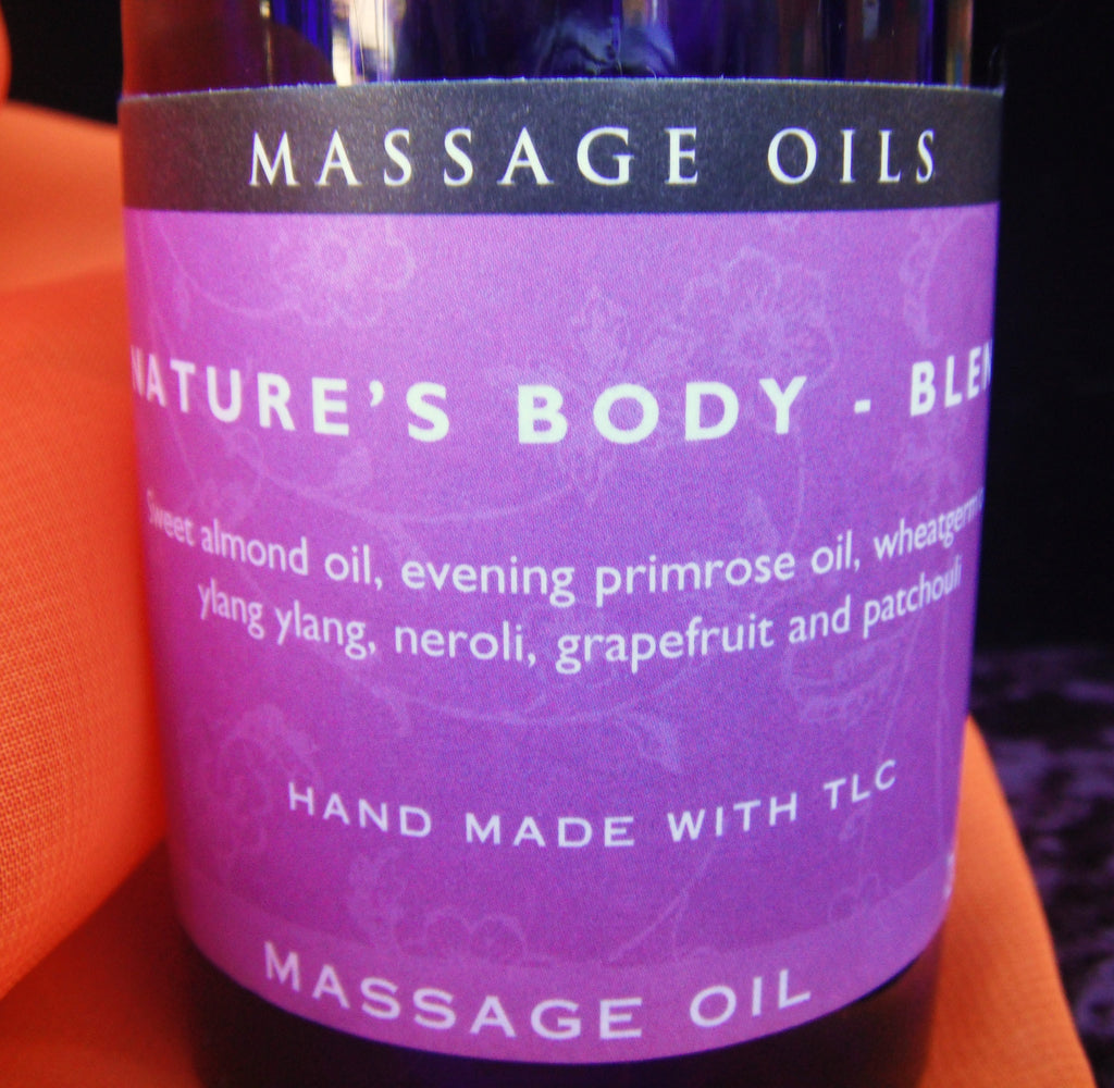 Nature's Body Blend Massage Oil