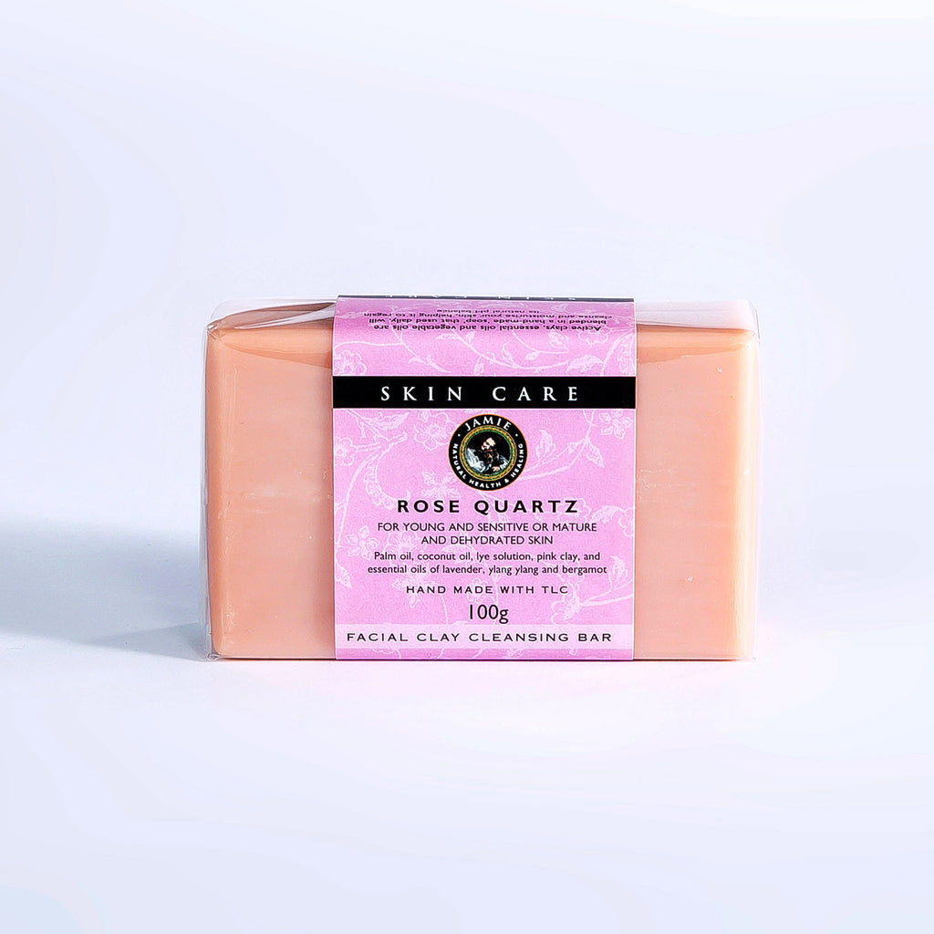 Rose Quartz Facial Clay-Cleansing Bar