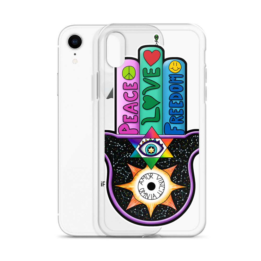 Hamasa iPhone Case