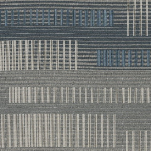 Designtex Savile Plaid Lake Shore Upholstery Fabric
